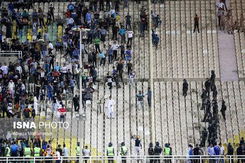 دفاعیه گزارشگر بازی استقلالخوزستان و پرسپولیس