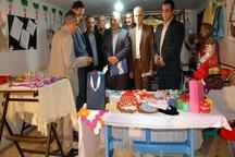 نمایشگاه صنایع دستی 30 هنرمند در آستارا دایر شد