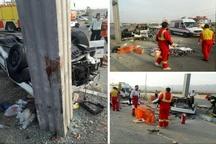 واژگونی خودرو در اتوبان کرج-قزوین ۳ کشته برجا گذاشت