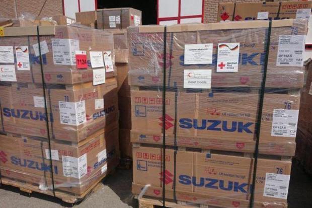 80درصد تجهیزات محموله صلیب سرخ آلمان به خوزستان ارسال می شود