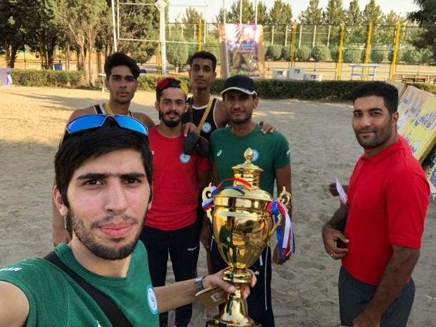 هرمزگان الف قهرمان والیبال ساحلی نوجوانان کشور شد