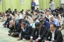 آیین گرامیداشت شهدای هفتم تیر در بندرانزلی برگزار شد