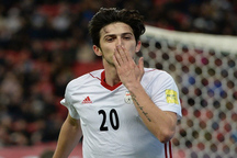 درخشش در جام جهانی آرزوی سردار تیم ملی فوتبال ایران
