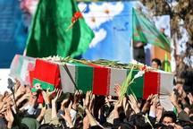 پیکرهای مطهر پنج شهید گمنام برای تشییع وارد کردستان شدند