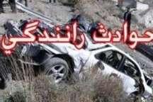 حادثه رانندگی در محور اراک - قم یک کشته و پنج مجروح به جا گذاشت