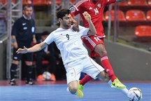 صعود تیم ملی فوتسال به مرحله نیمه نهایی رقابت های زیر ۲۰ سال آسیا