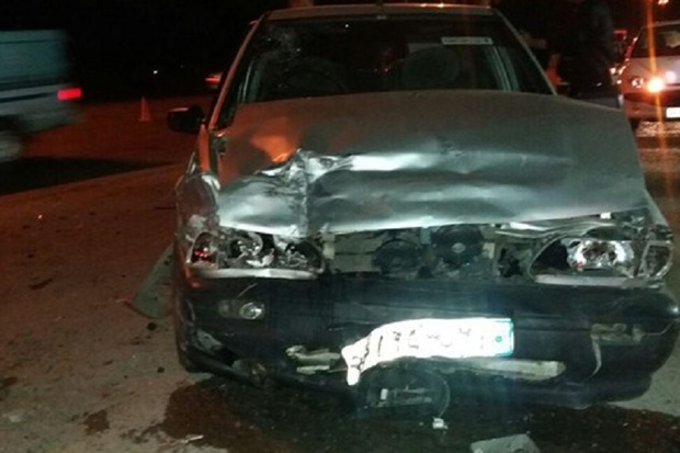 برخورد 2 خودرو در ابوزیدآباد آران و بیدگل یک کشته و سه مصدوم داشت