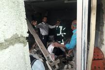ریزش دیوار ساختمان، موجب مرگ جوان 27 ساله در کلانشهر رشت شد