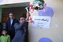 غرس 100 نهال در مدارس خورموج بوشهر