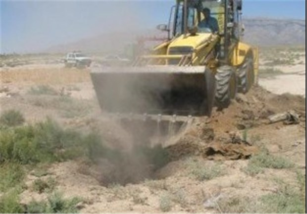 28 چاه غیرمجاز در عجب شیر پلمب شد
