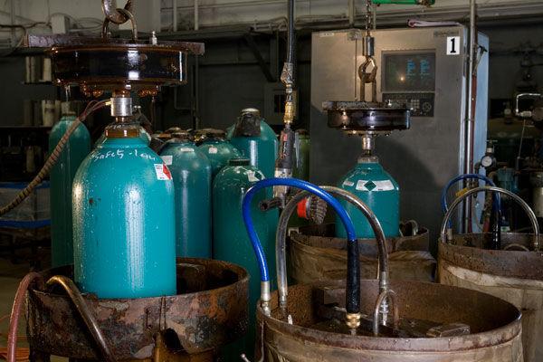 ششمین آزمایشگاه بازرسی مخازن فولادی بدون درز افتتاح شد