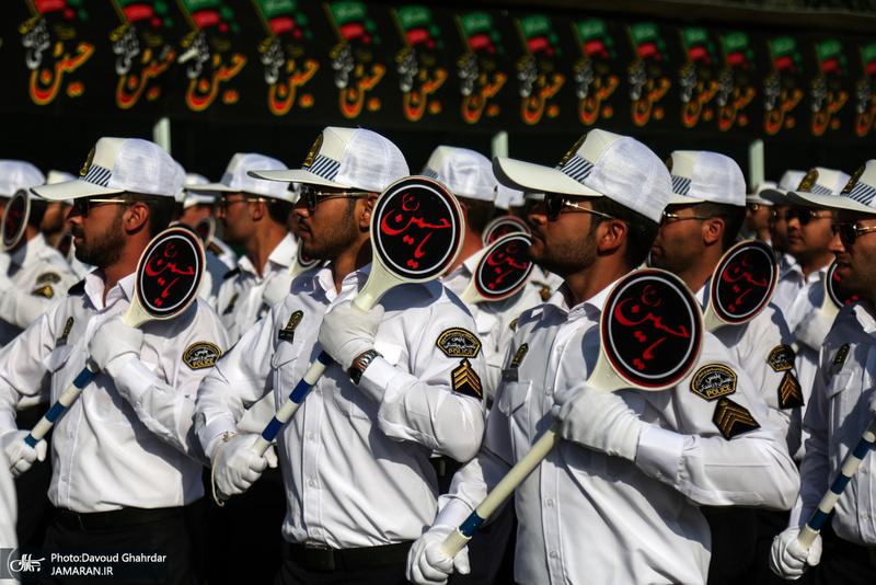 مراسم صبحگاه عمومی نیروی انتظامی تهران بزرگ