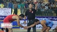مسابقات کشتی آزاد در بیرجند به مرحله نیمه نهایی رسید