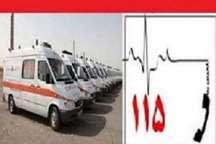 انجام 11 هزار و 748 ماموریت توسط اورژانس دانشگاه علوم پزشکی زابل