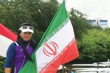 بانوی قایقران کرمانشاهی به فینال مسابقات روئینگ قهرمانی آسیا راه یافت