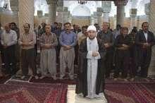 نماز عید فطر در مساجد کردستان برگزار شد
