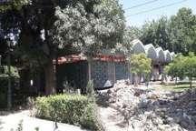 هشدار میراث فرهنگی تهران نسبت به تخریب کتابخانه پارک شهر