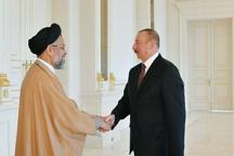 وزیر اطلاعات با رئیسجمهوری آذربایجان دیدار کرد