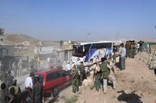 تخلیه کامل شهرکهای کفریا و الفوعه/ آزادی کامل استان«درعا»/گروه های مسلح استان «القنیطره» را ترک می کنند/موفقیت 6مبارز حزب الله در خروج از ادلب