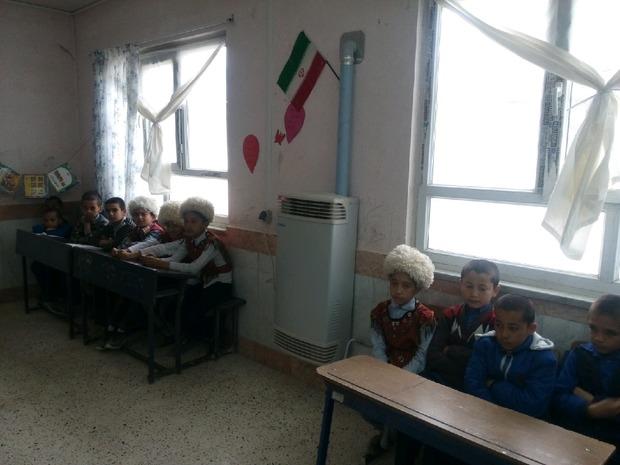 مدارس مانه و سملقان به بخاریهای هوشمند و برقی تجهیز شد