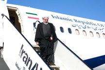 رئیسجمهوری وارد استان سمنان شد