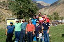 رقابت های اسکی روی چمن کشور به میزبانی پیست دیزین برگزار شد