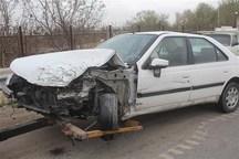 تصادف در محور نورآباد - شیراز ۵ مصدوم و ۲ فوتی بر جای گذاشت