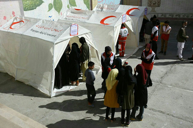 253 زاهدانی توسط داوطلبان هلال احمر ویزیت رایگان شدند