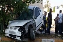 تصادف در جیرفت یک کشته بر جا گذاشت