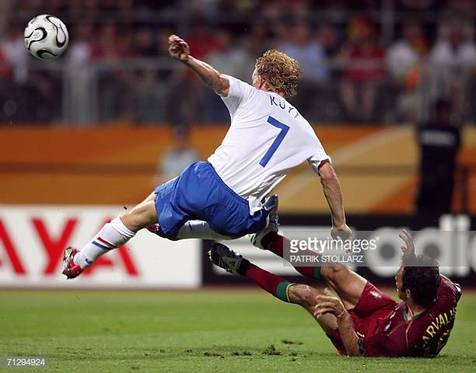 """هلند- پرتغال؛ به یاد """"قتل عام نورنبرگ"""" در جام جهانی 2006 + تصاویر/ فیلم"""