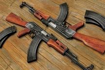 119 قبضه سلاح غیرمجاز در خوزستان کشف شد