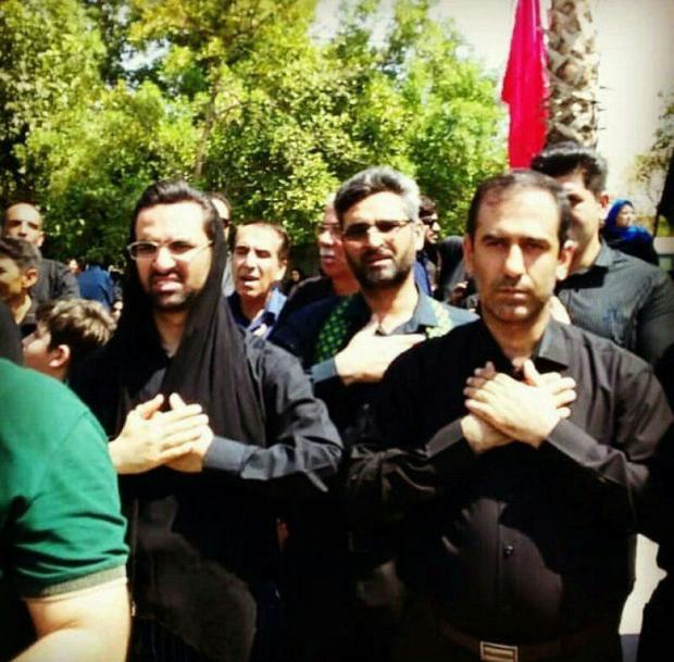 وزیر ارتباطات در مراسم عزاداری ظهر تاسوعای جهرم