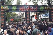 مردم لاهیجان در روز عاشورا، عشق به امام حسین(ع)را به نمایش گذاشتند