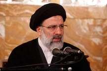 حجت الاسلام رئیسی: دوران حرف درمانی به پایان رسیده است