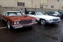 همایش خودروهای کلاسیک در کرج برگزار شد