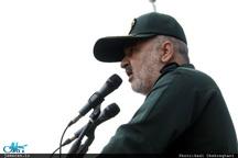 سردار سلامی: سیاست های ایران به رفتار دشمنان بستگی دارد