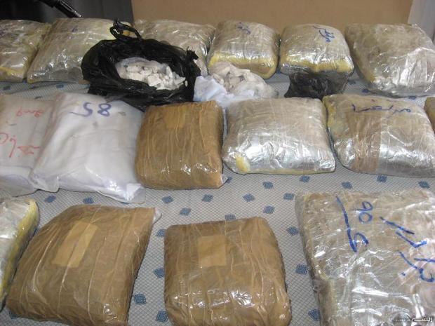 361 کیلوگرم موادمخدر در همدان کشف شد