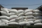 محموله 25 تنی شکر در نظرآباد توقیف شد