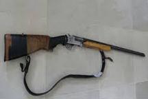 یک قبضه سلاح قاچاق در قزوین کشف شد