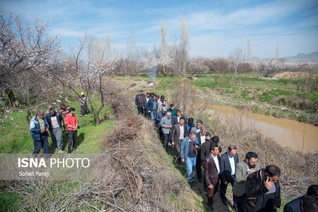 خبرنگاران آذربایجان غربی از حوضه های آبریز دریاچه ارومیه بازدید کردند