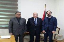 دعوت علی لاریجانی از رئیس مجلس ملی فلسطین برای سفر به تهران ابلاغ شد
