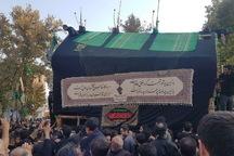 نخل گردانی، پایان 11 روز سوگواری در شاهرود