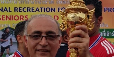 قهرمانی تیم ملی پیشکسوتان فوتبال ایران در مسابقات جهانی تایلند