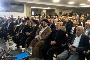مراسم بزرگداشت مرحوم دکتر احمد احمدی با حضور سید حسن خمینی