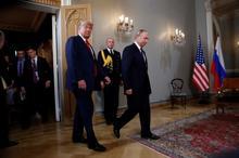 تصاویر/ دیدار پر سروصدای پوتین و ترامپ