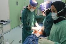 جراحان گلستانی کلیه 3300گرمی وعفونی را از بدن یک بیمار خارج کردند