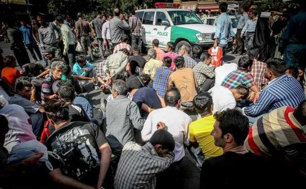 فرمانده انتظامی اهواز:150معتاد متجاهر در اهواز دستگیر شدند