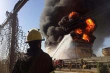 حادثه آتش سوزی خمین 2 فوتی و یک مصدوم داشت
