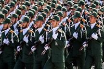 مردم فارس در حمایت از سپاه پاسداران راهپیمایی می کنند
