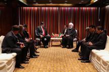 رئیسجمهور روحانی: حکومتی که پشتوانه مردم را در اختیار دارد، تسلیم تهدید نمی شود/ تهران از توسعه همه جانبه همکاری با کشورهای حوزه آمریکای لاتین بویژه ونزوئلا استقبال میکند